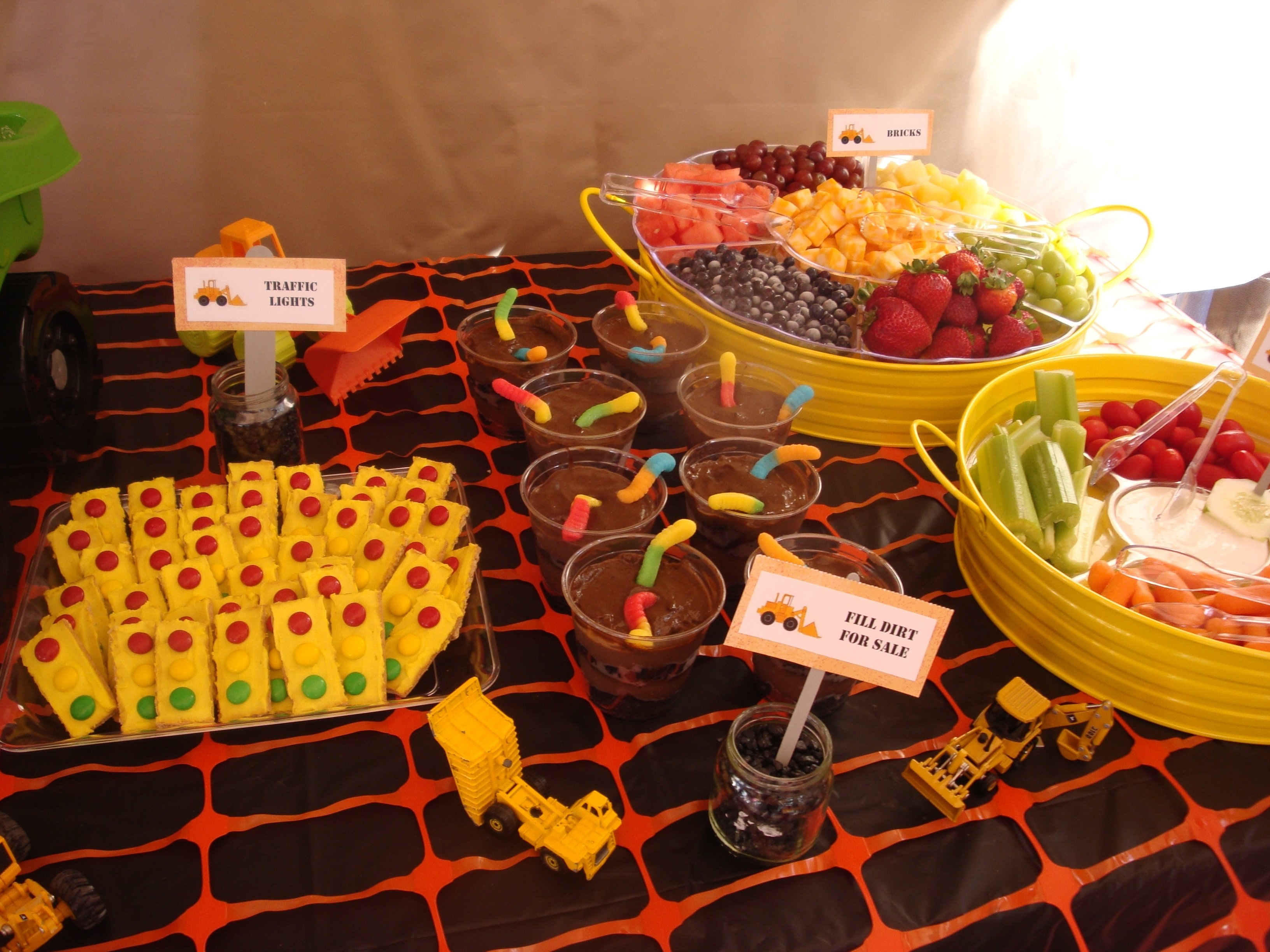10 Trendy 2Nd Birthday Party Food Ideas Construction Theme Partayy