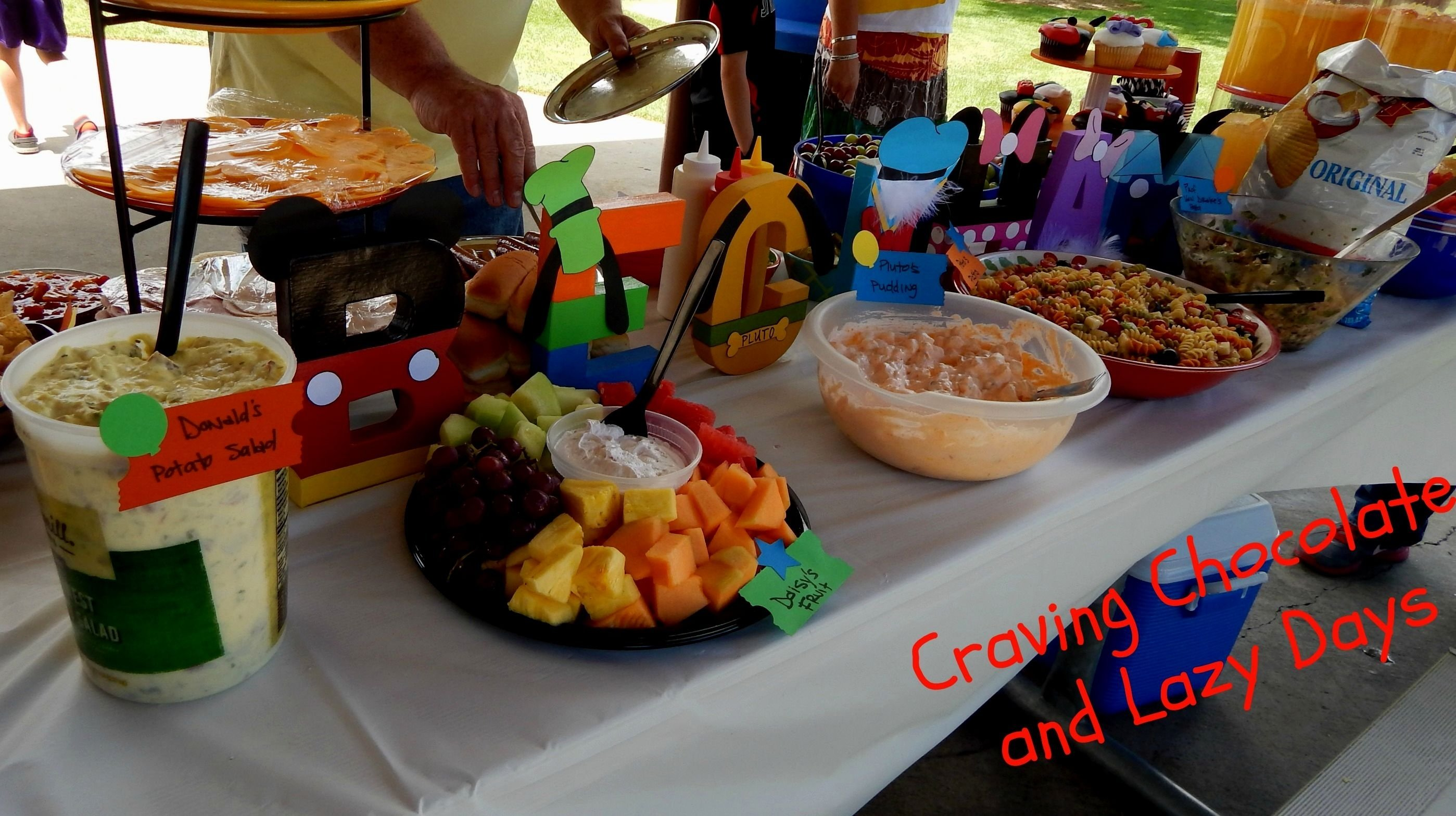 10 Most Recommended Mickey Mouse Clubhouse Food Ideas food ideas for mickey mouse clubhouse birthday party decorating of 2020