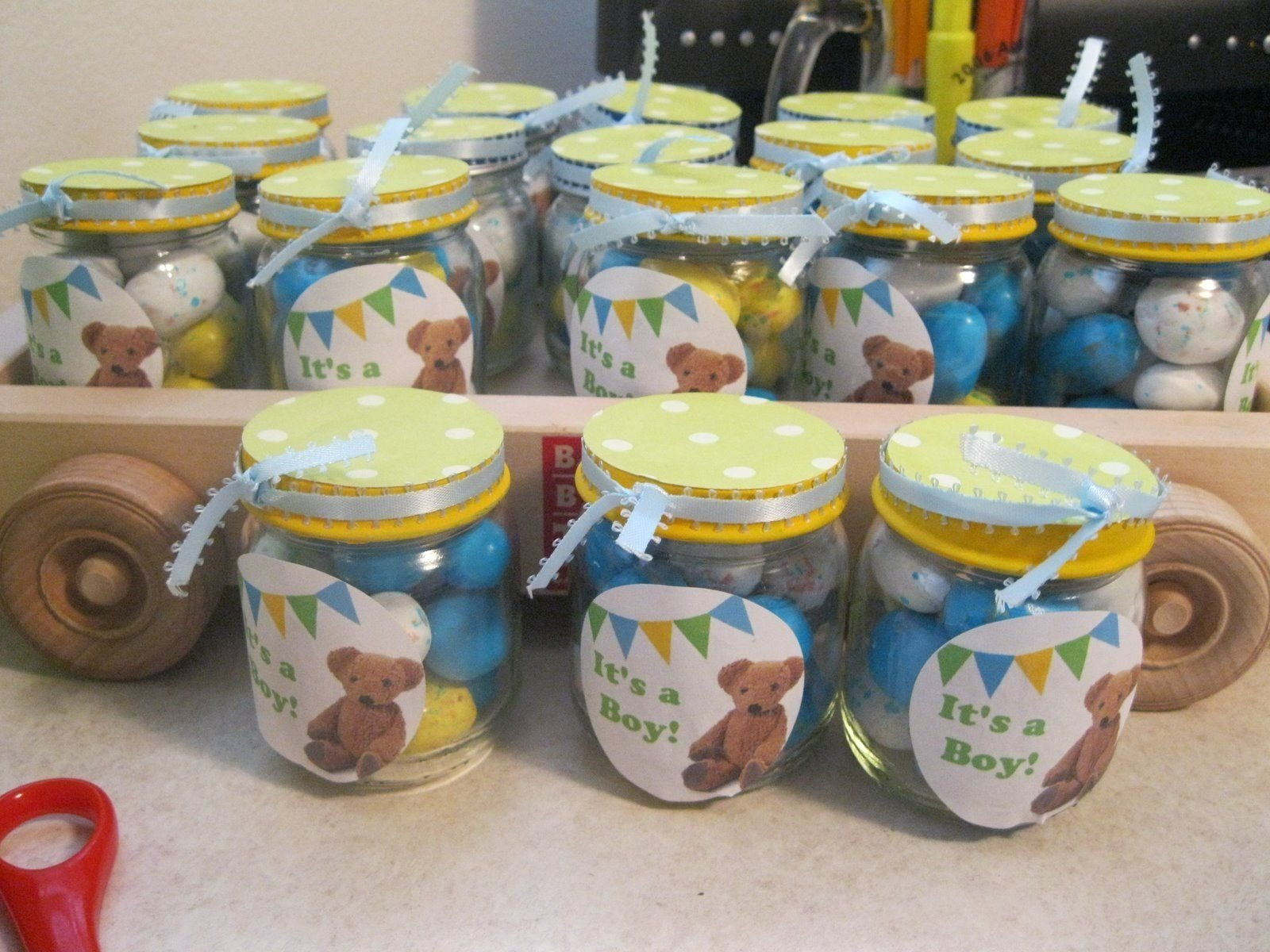 10 Great Craft Ideas For Baby Food Jars food jar baby shower crafts easter candy is great for showers so 1 2020