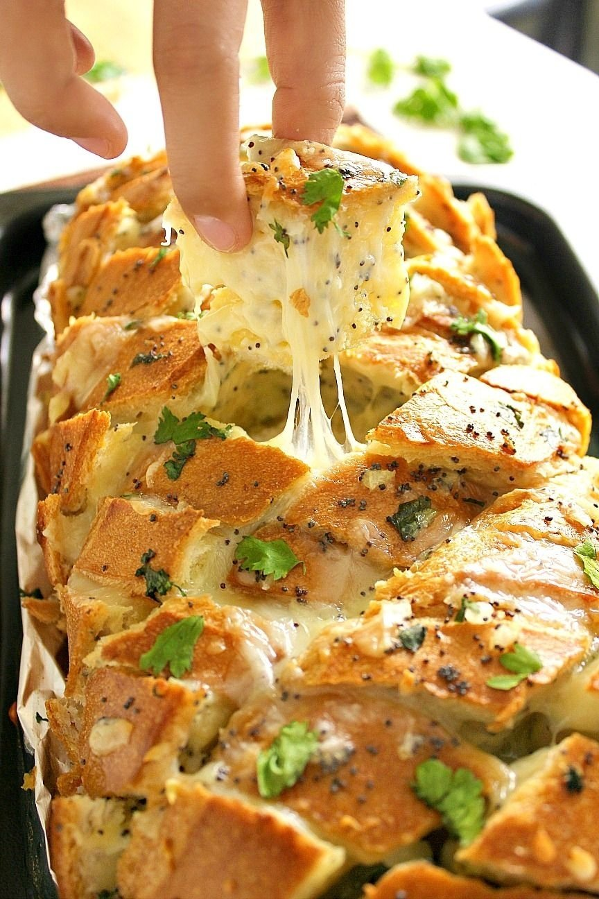 10 Most Popular Easy Christmas Eve Dinner Ideas food wanderings in asia stuffed cheesy bread on crack breads 2 2020