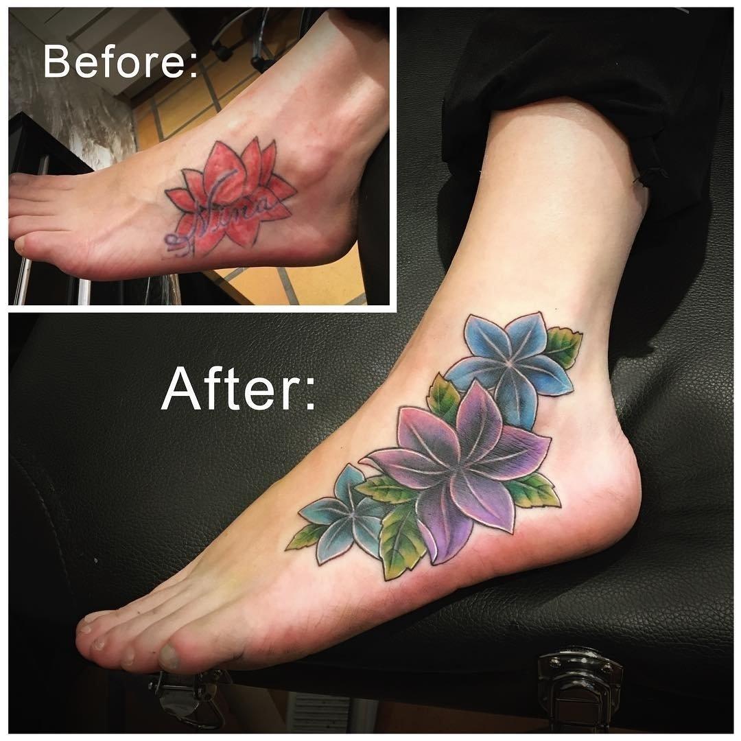 10 Cute Foot Tattoo Cover Up Ideas foot tattoo ideas chhory tattoo 2021