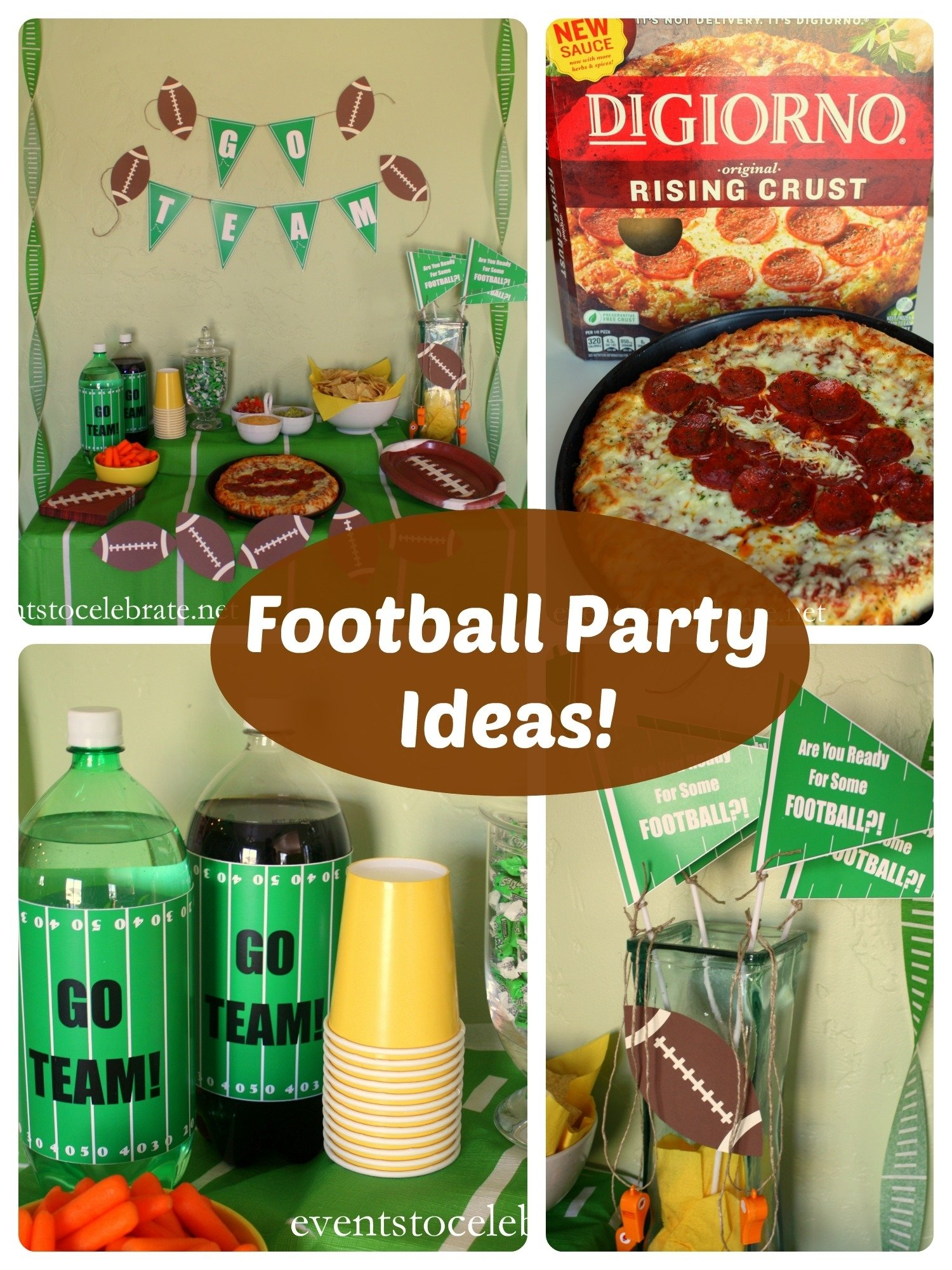 football party ideas - events to celebrate!