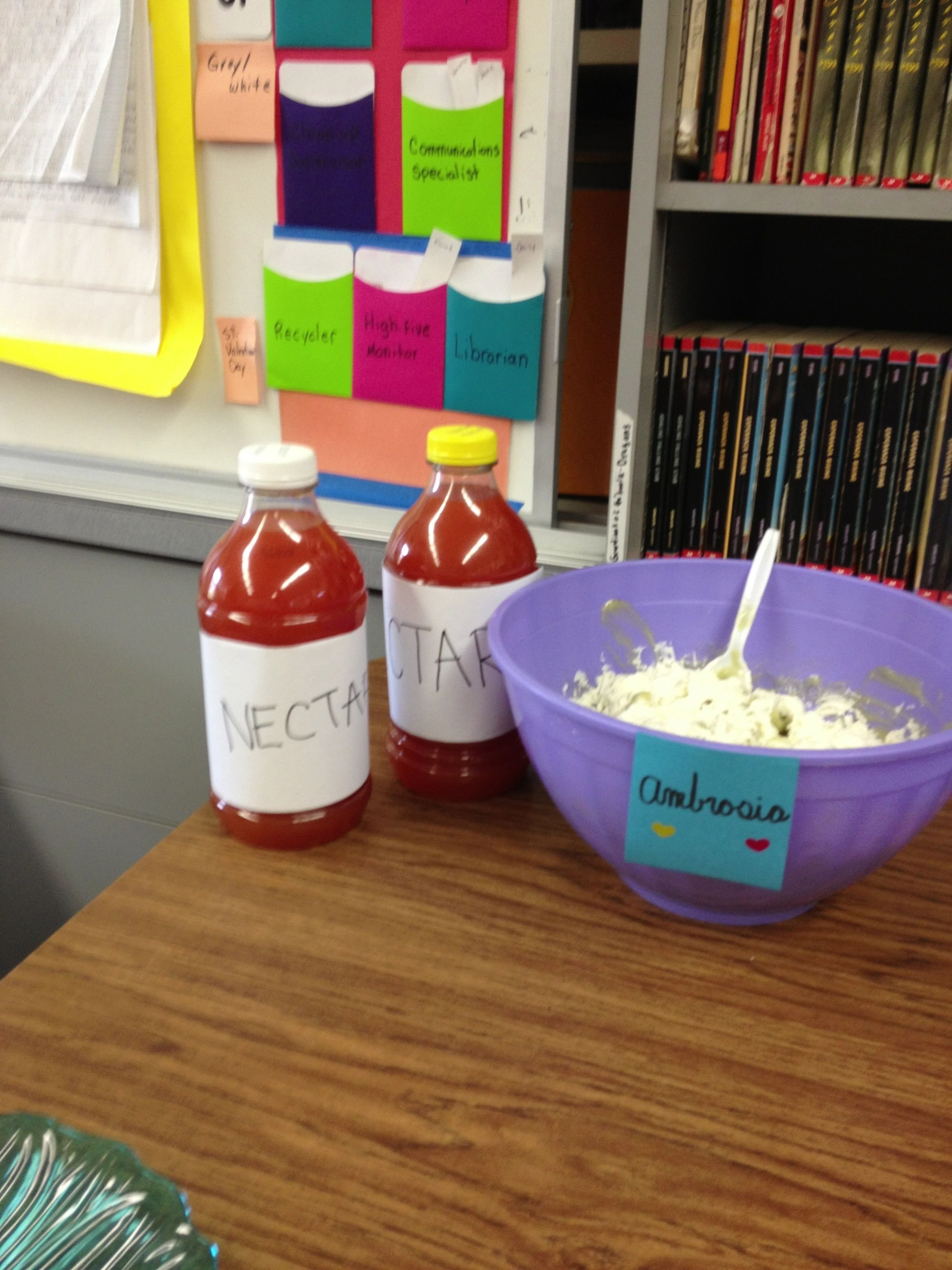 10 Lovely Percy Jackson Birthday Party Ideas for a percy jackson party nectar juice and ambrosia whipped 2021