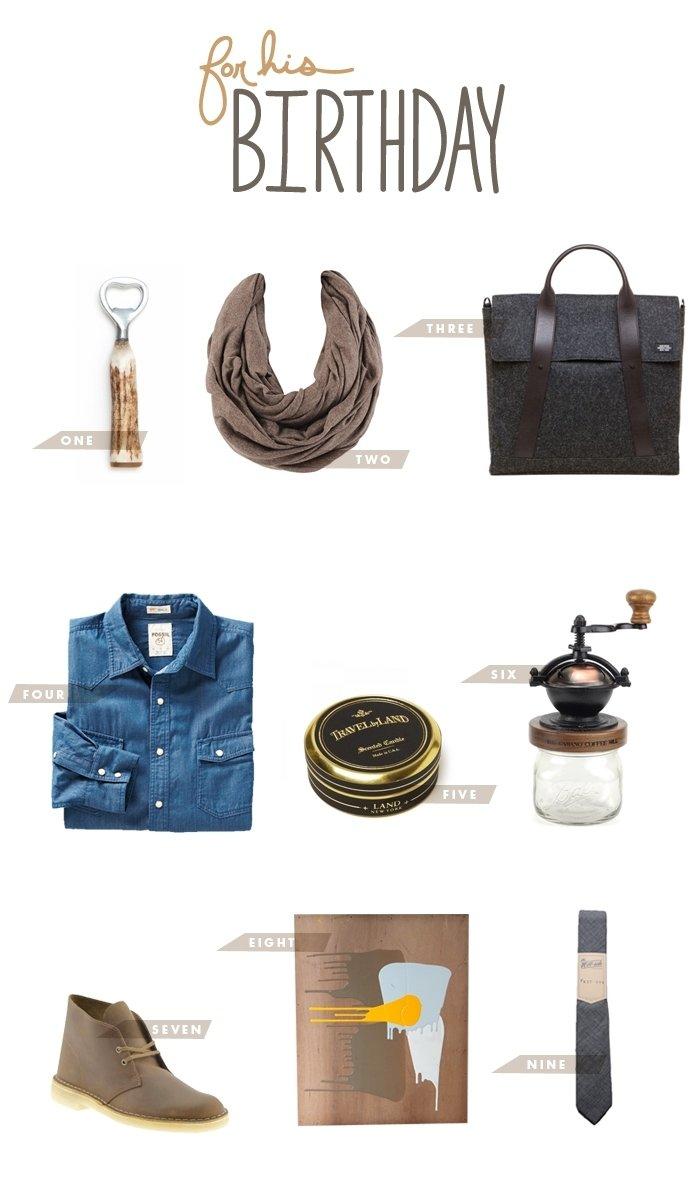 10 Fabulous Birthday Gift Ideas For Men for his birthday mr pinterest birthdays 2021
