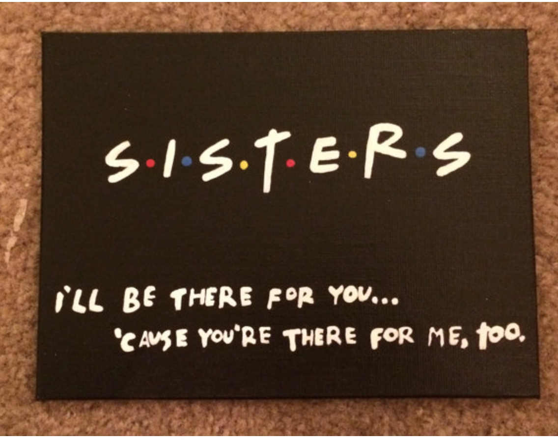 10 Most Popular Birthday Present Ideas For Sister for that sister who loves friends how to be a sorority girl philo 2020
