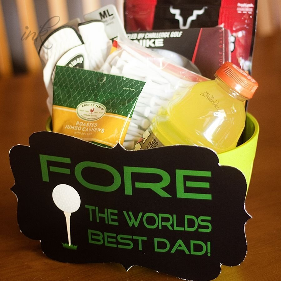 10 Elegant Golf Gift Ideas For Dad fore the worlds best dad golf fathers gift free printable