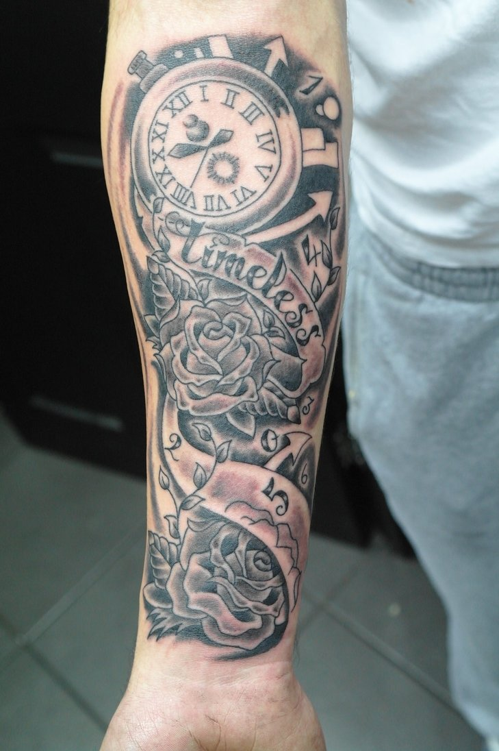 10 Pretty Half Sleeve Tattoo Ideas For Guys forearm half sleeve tattoo ideas amazing tattoo 1 2020