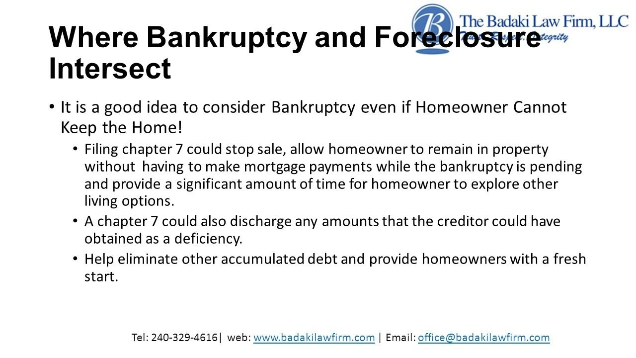 10 Cute Is Bankruptcy A Good Idea foreclosure and bankruptcy what should homeowners in maryland know 2020