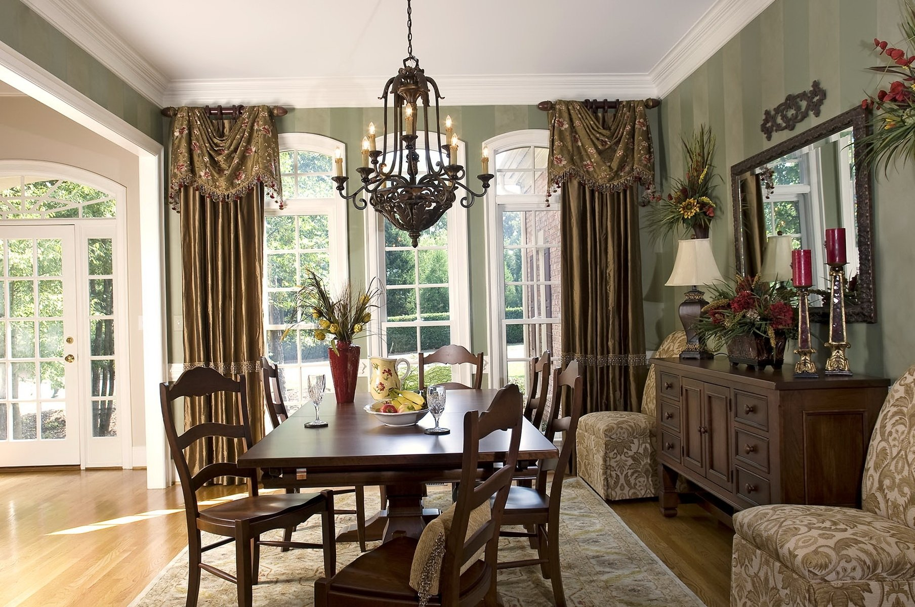 10 Wonderful Curtains For Dining Room Ideas formal dining room curtain ideas ideas of curtains for dining room 2020