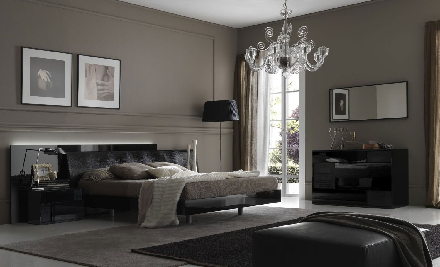 10 Attractive Bedroom Ideas With Black Furniture fortune black furniture bedroom ideas decorating www 2021