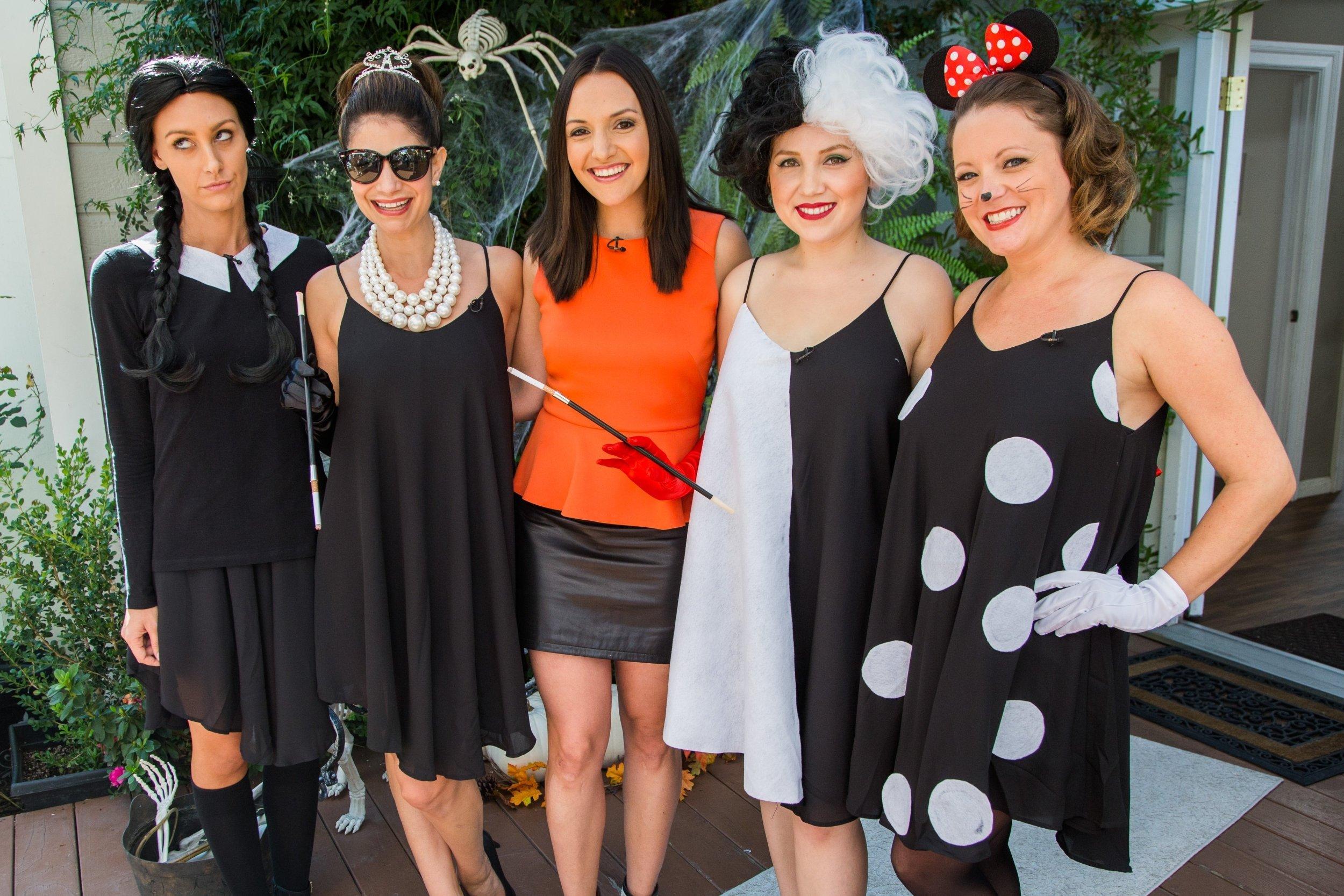 10 Attractive Little Black Dress Costume Ideas four costume ideas with one little black dress home family 2020