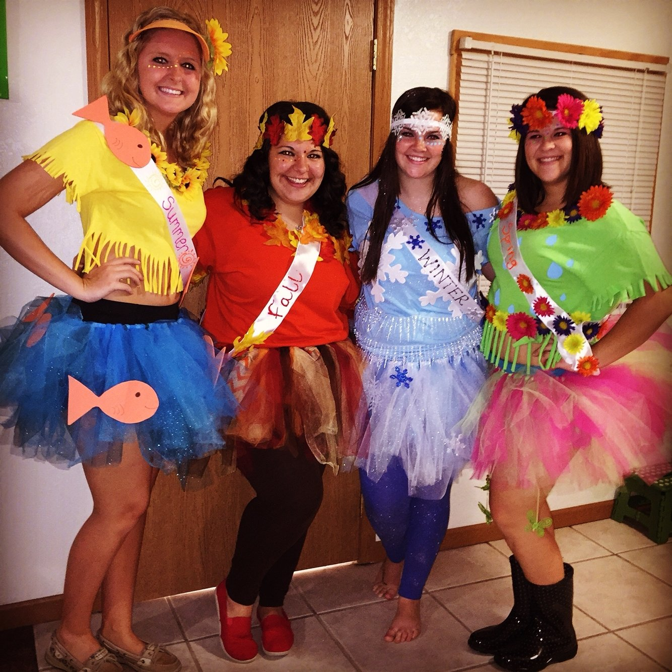 10 Amazing Costume Ideas For Groups Of 3 four seasons group halloween costume 3 pinterest group 5