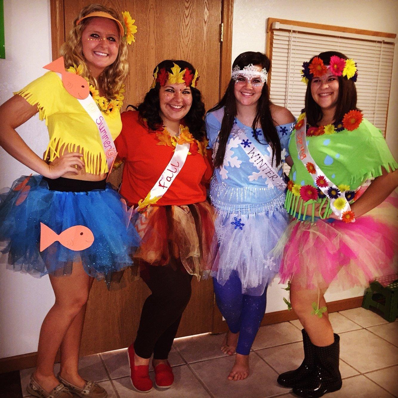 10 Spectacular Halloween Costume Ideas For 3 four seasons group halloween costume 3 pinterest group 6 2020