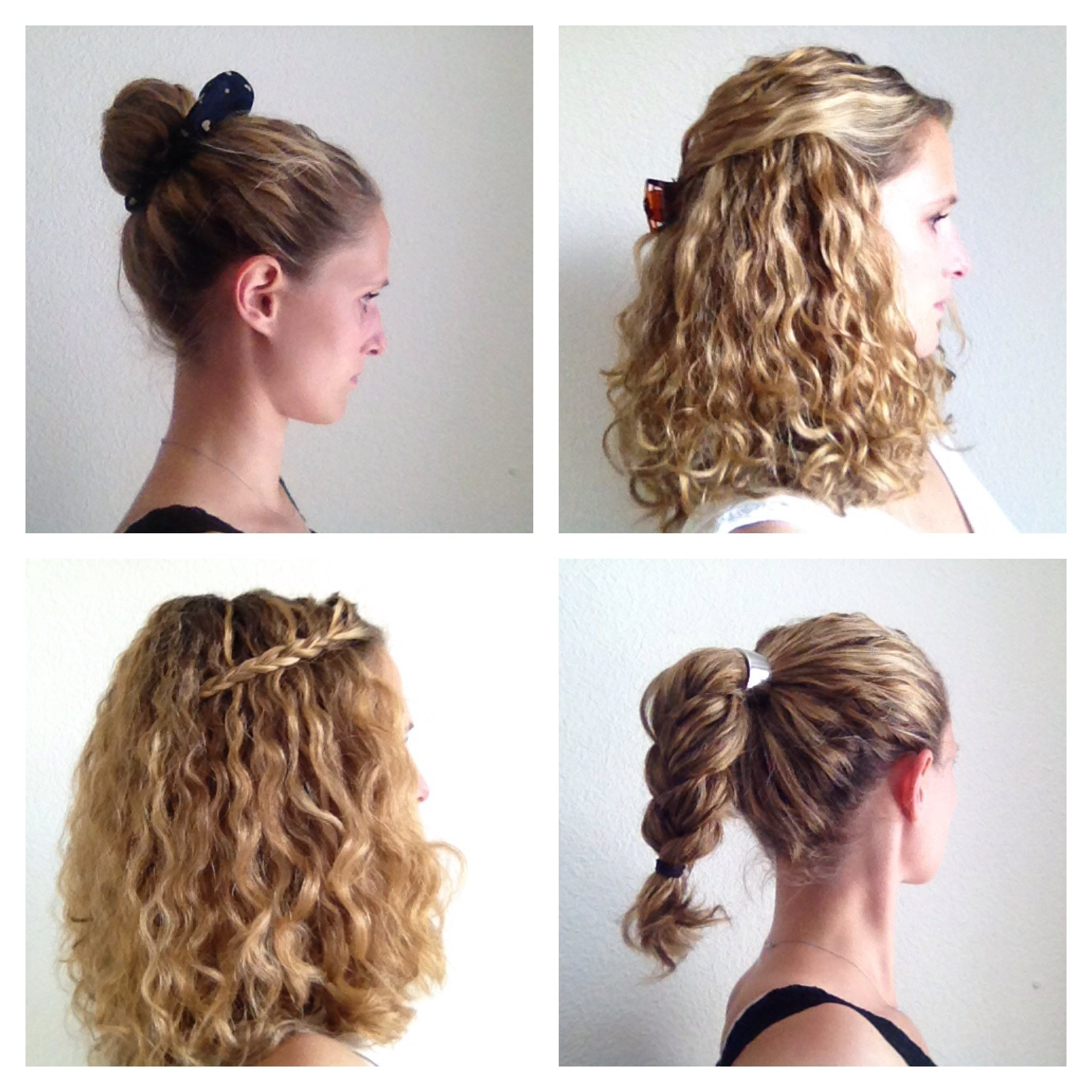 four styling ideas for curly hair - justcurly
