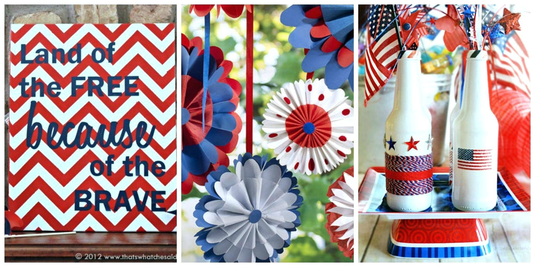 10 Lovely Fourth Of July Decoration Ideas fourth of july decorations of star streamer easy diy fourth of july 2021