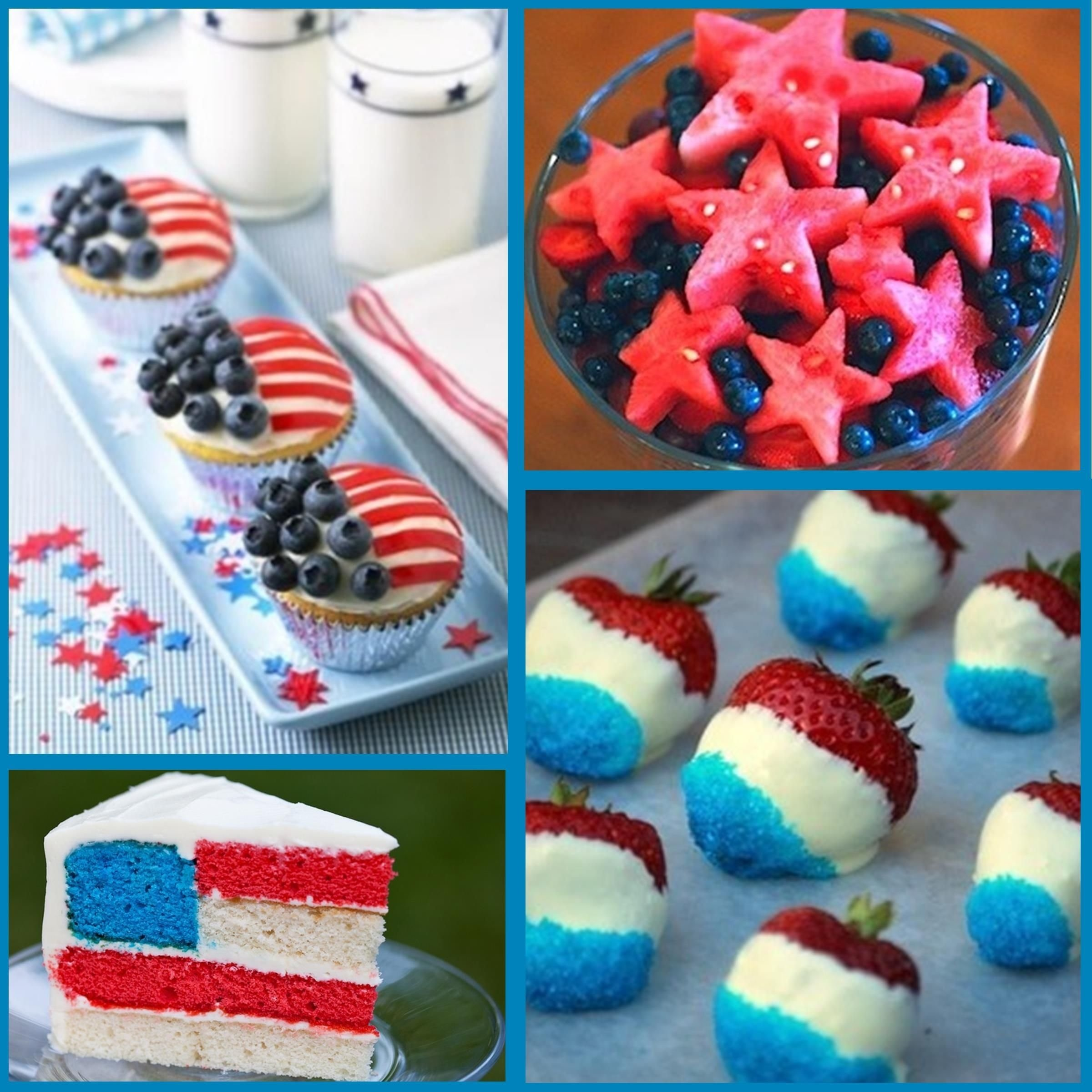 fourth of july desserts: 4th of july food ideas | food ideas, food