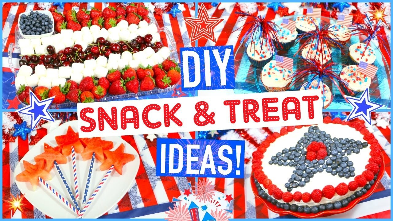 10 Stunning 4Th Of July Snack Ideas fourth of july diy party ideas snacks treats jessica reid 1