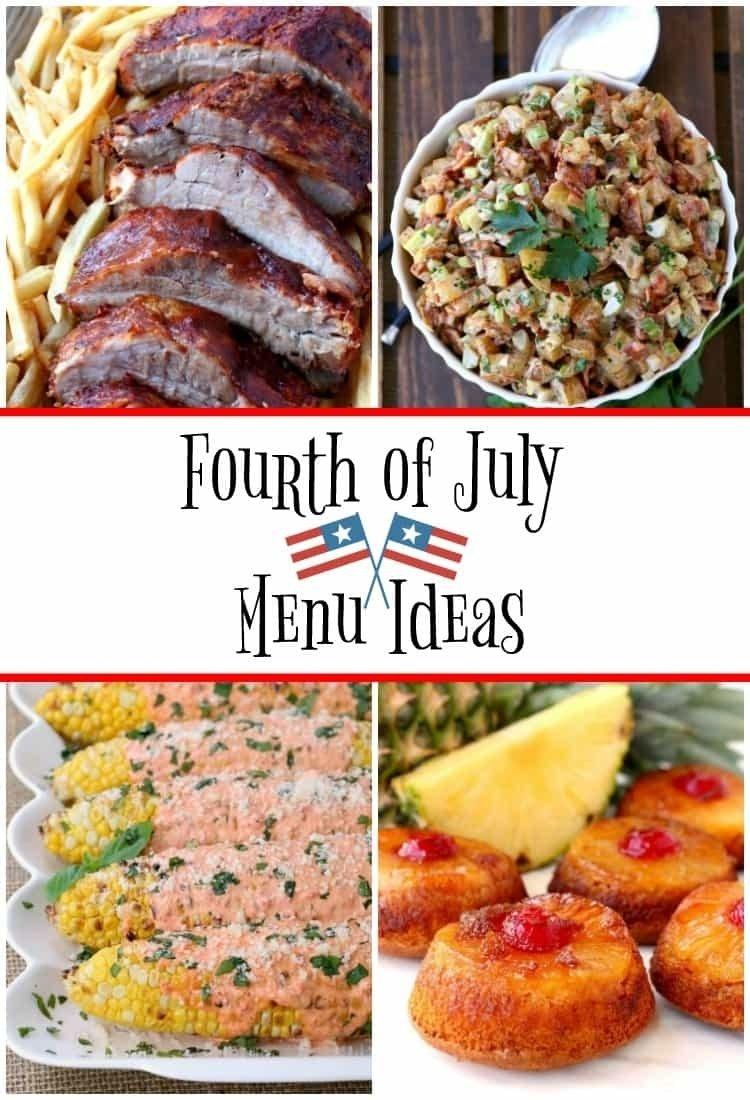 10 Beautiful Fourth Of July Menu Ideas fourth of july menu ideas mantitlement 2021