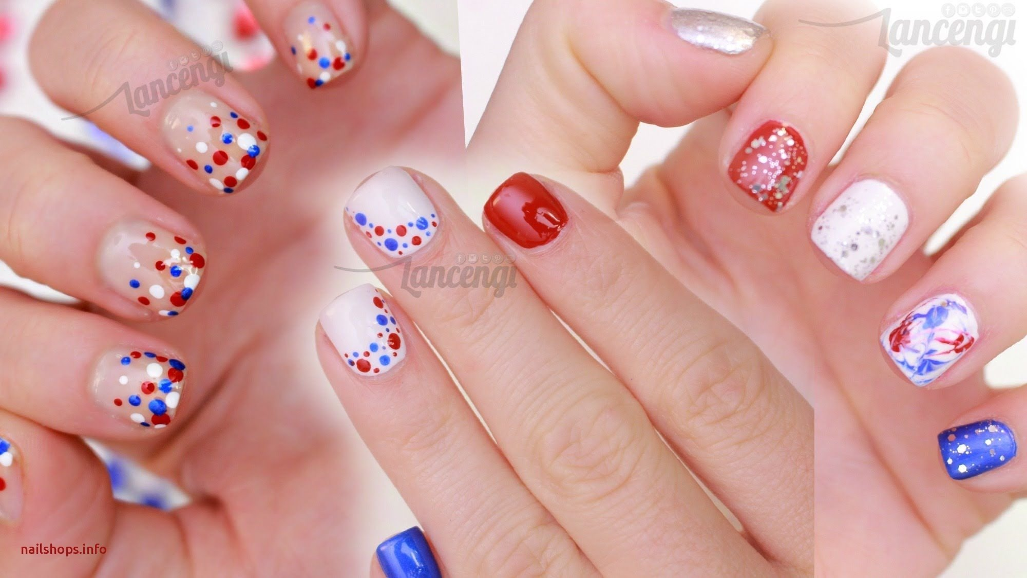 10 Awesome Fourth Of July Nail Art Ideas fourth of july nail art ideas beautiful cute easy nail art for