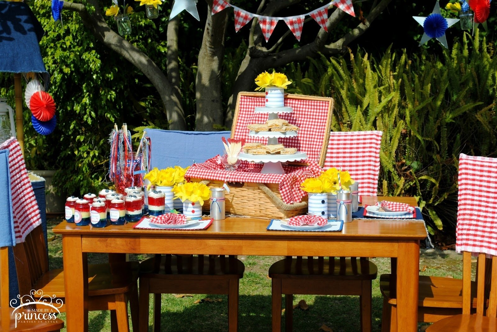 10 Perfect Fourth Of July Picnic Ideas fourth of july party ideas spaceships and laser beams 2021