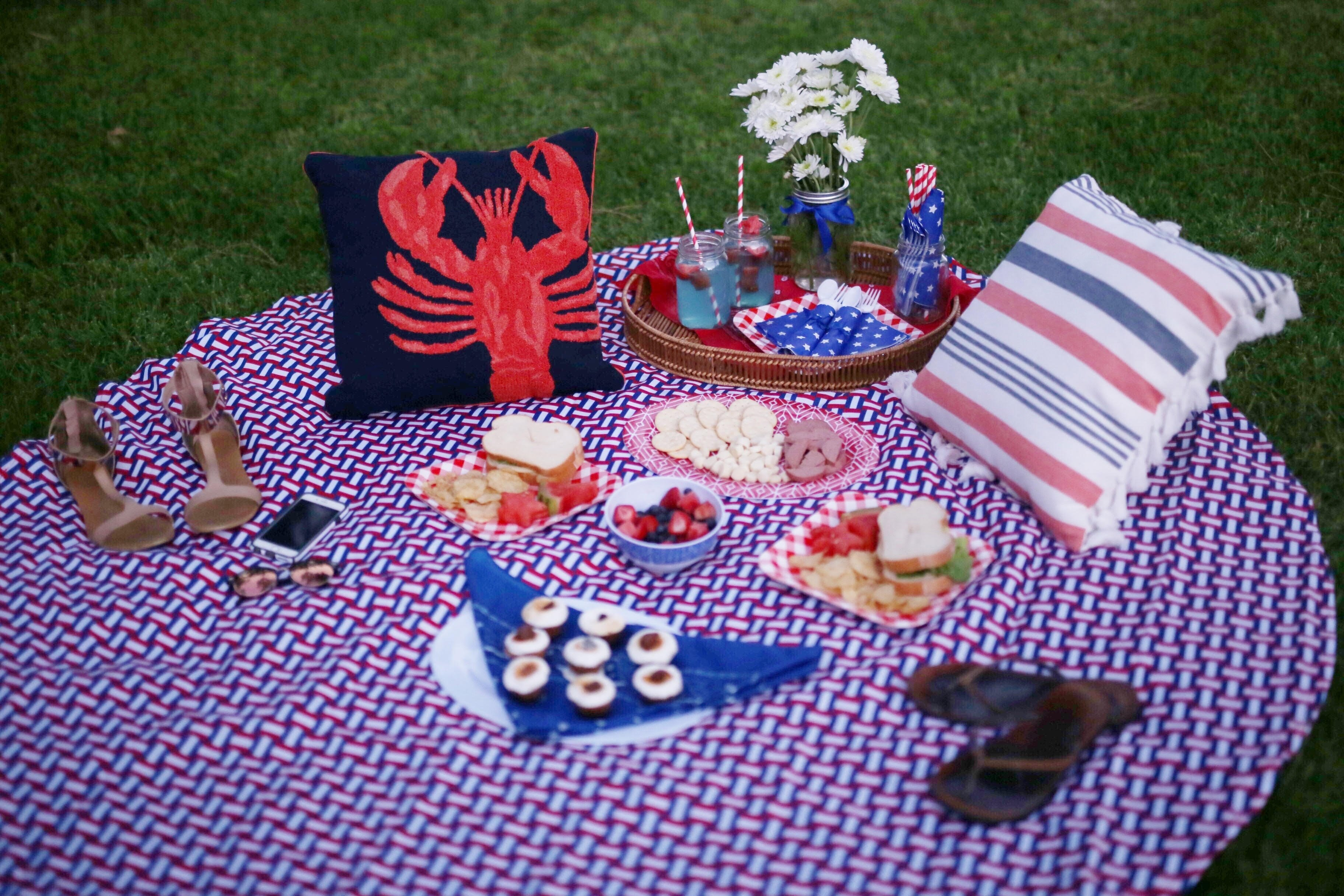 10 Perfect Fourth Of July Picnic Ideas fourth of july picnic style me samira 2 2021