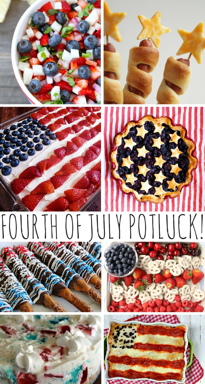 fourth of july potluck recipes! | potlucks, tasty recipe and recipes
