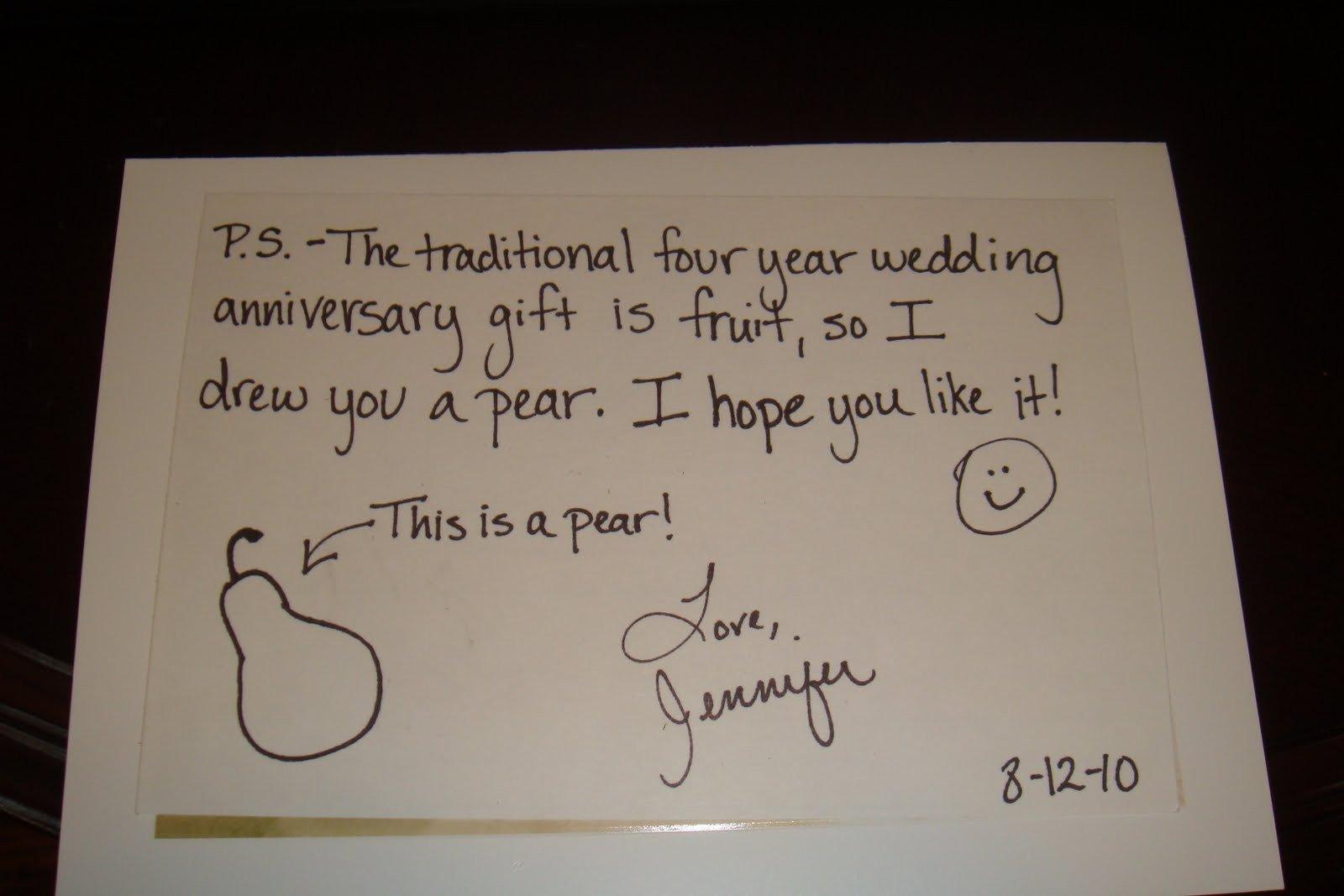 10 Amazing 4Th Wedding Anniversary Gift Ideas fourth wedding anniversary gift ideas for him fresh 4 year wedding 2 2020