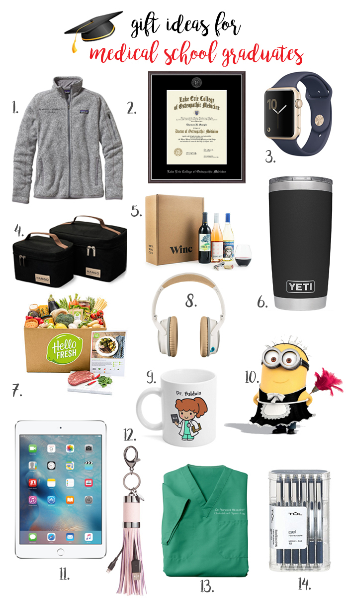 10 Stylish Med School Graduation Gift Ideas franish gift ideas for graduating medical students 1 2020