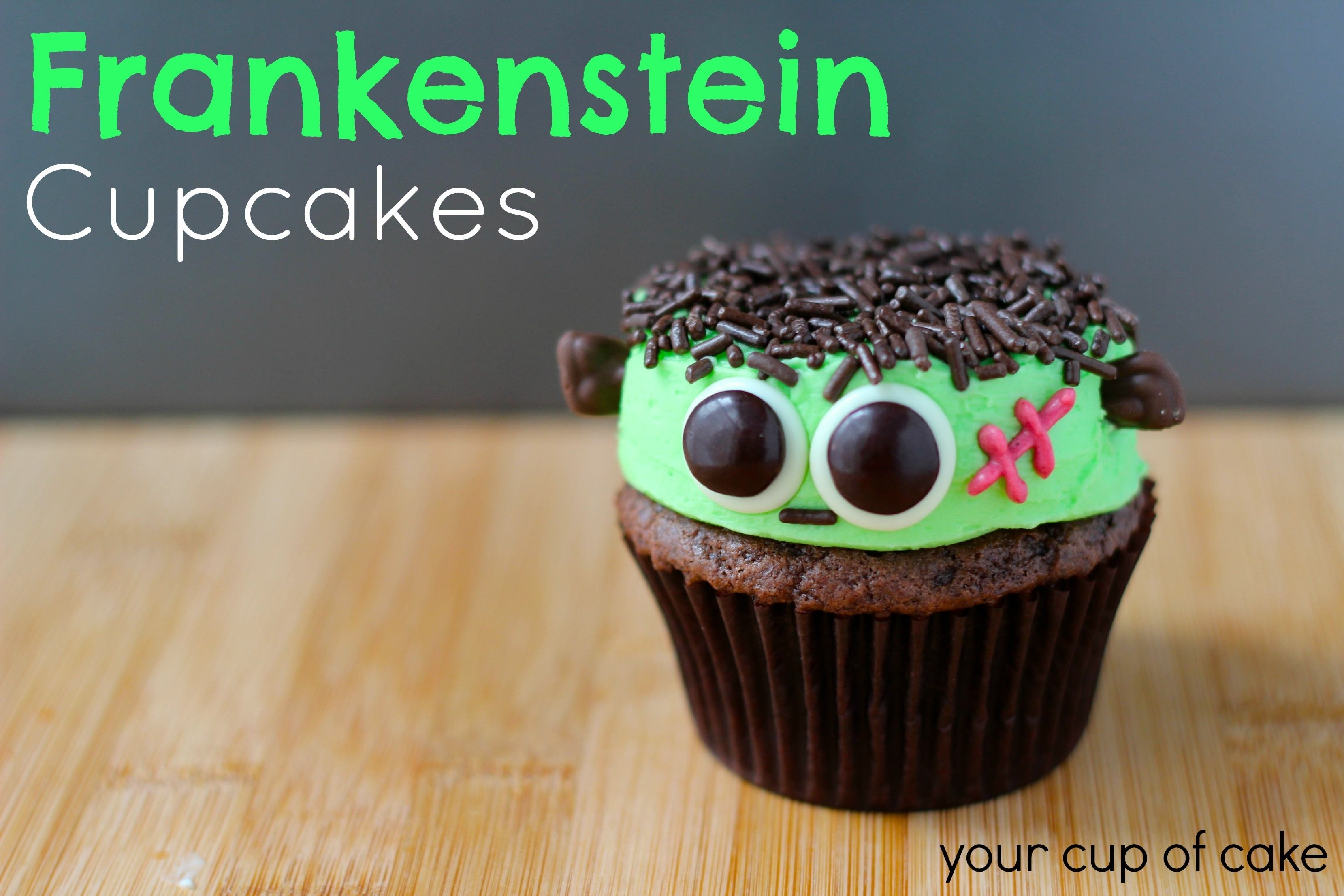 10 Best Halloween Cupcake Ideas For Kids frankenstein cupcakes your cup of cake 2020