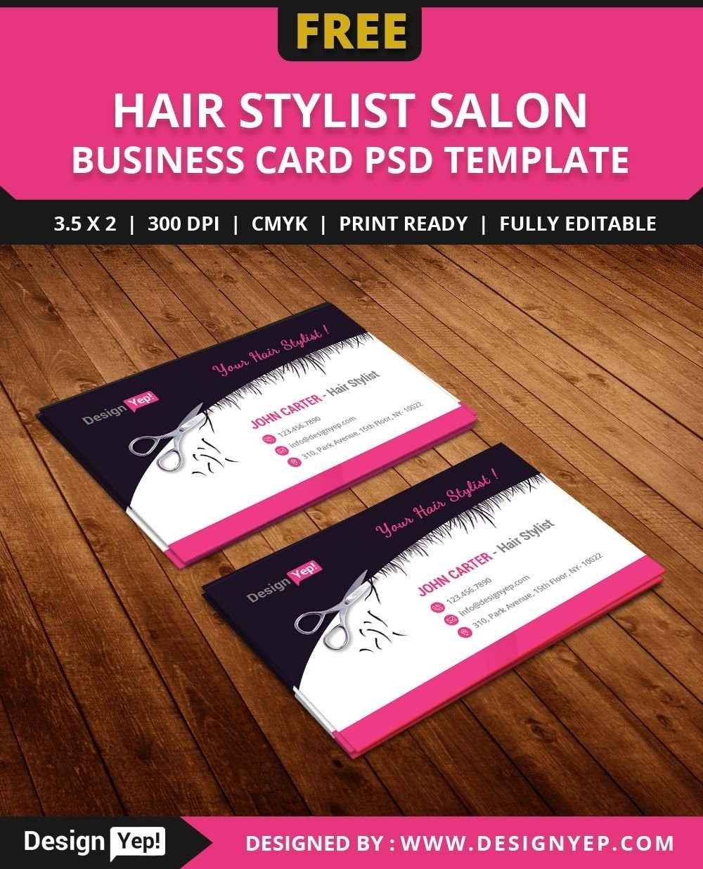 10 Great Hair Stylist Business Card Ideas free hair stylist salon business card template psd free business 2020