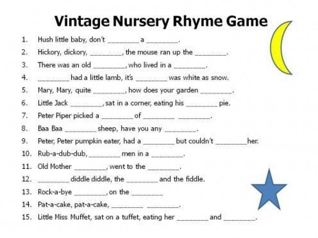 10 Nice Free Printable Baby Shower Games Ideas