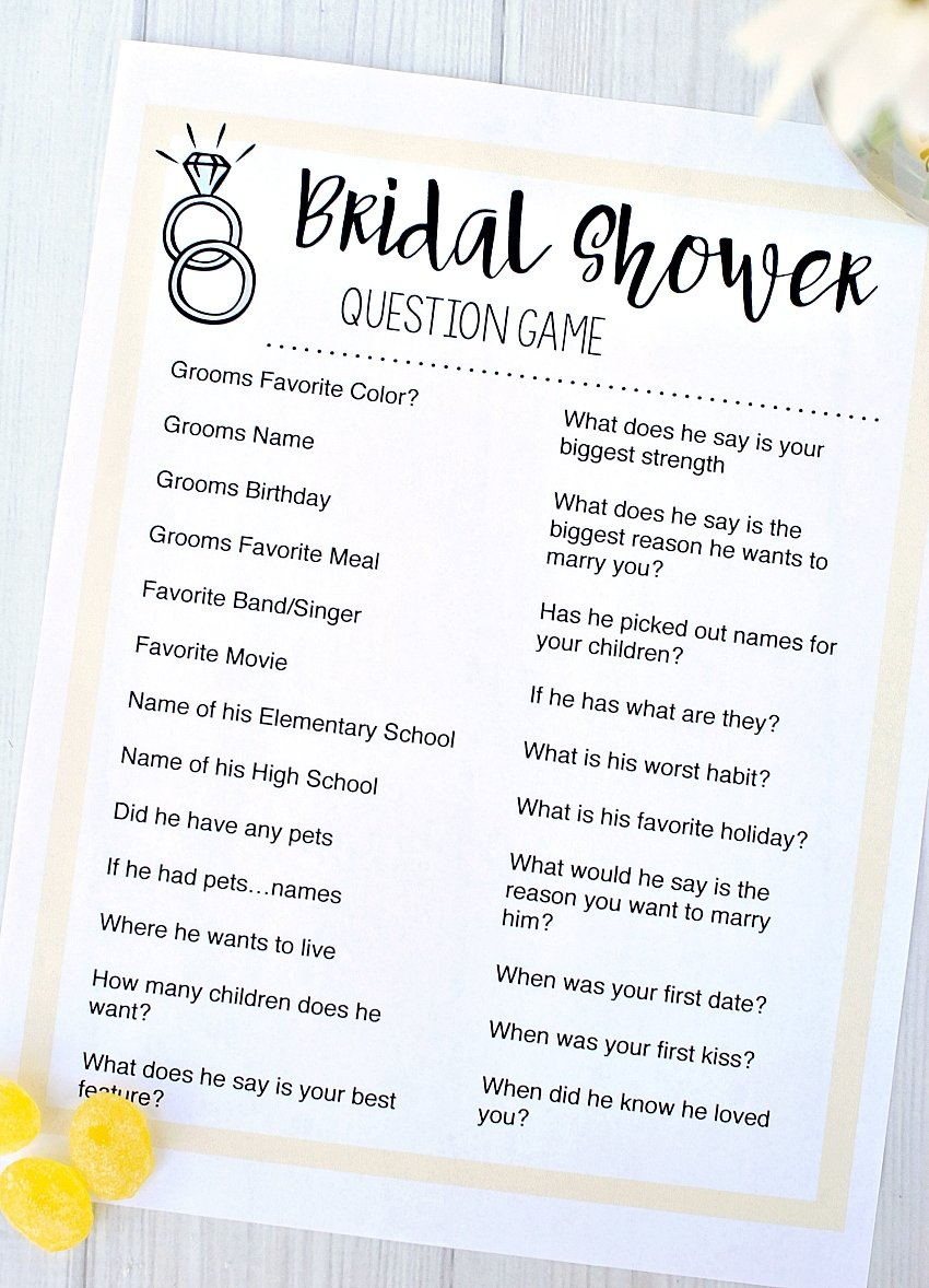 10 Spectacular Funny Bridal Shower Game Ideas free printable bridal shower games fun squared 2020