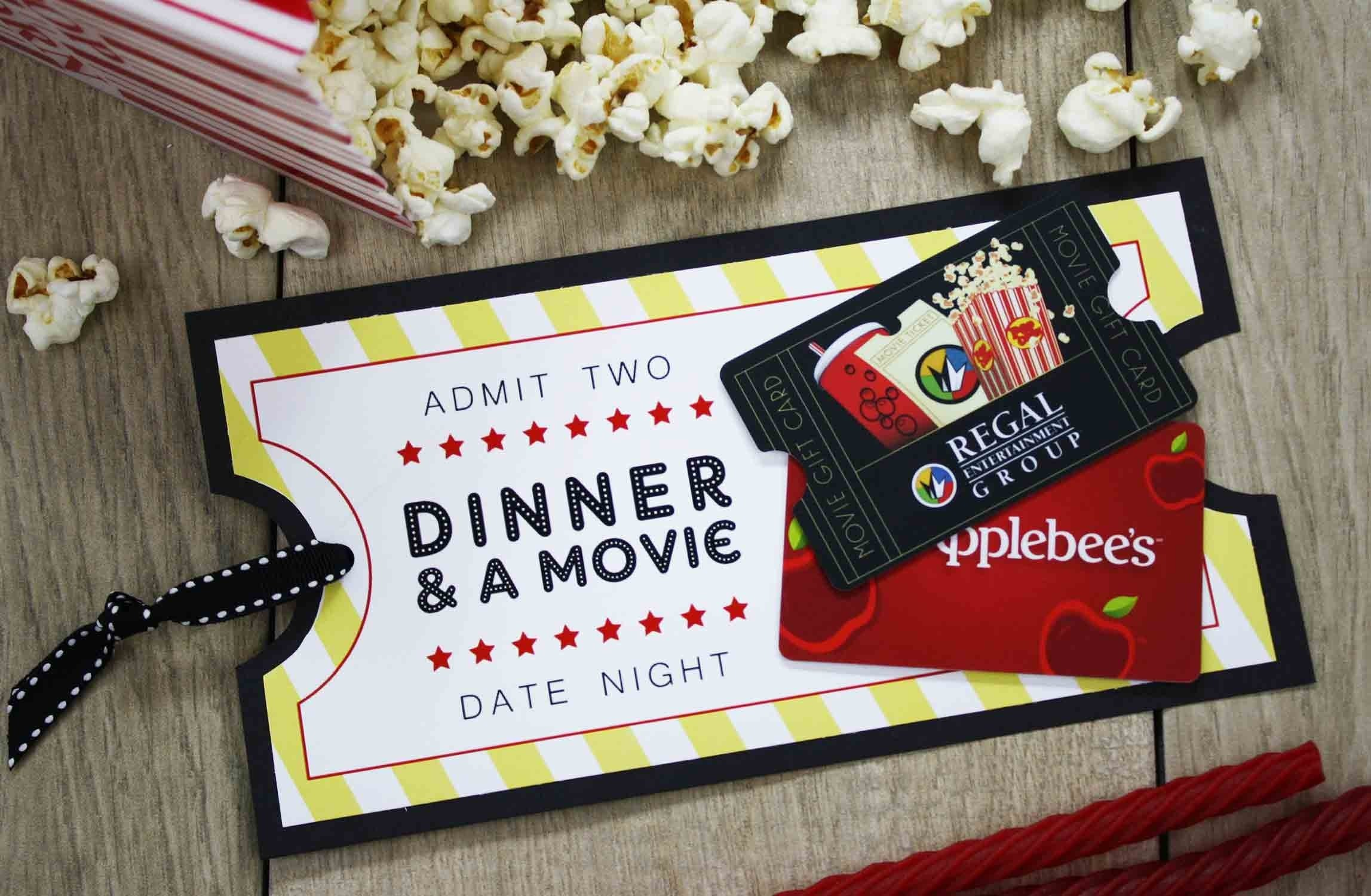 10 Stunning Ideas For Giving Gift Cards free printable give date night for a wedding gift gcg 1 2020