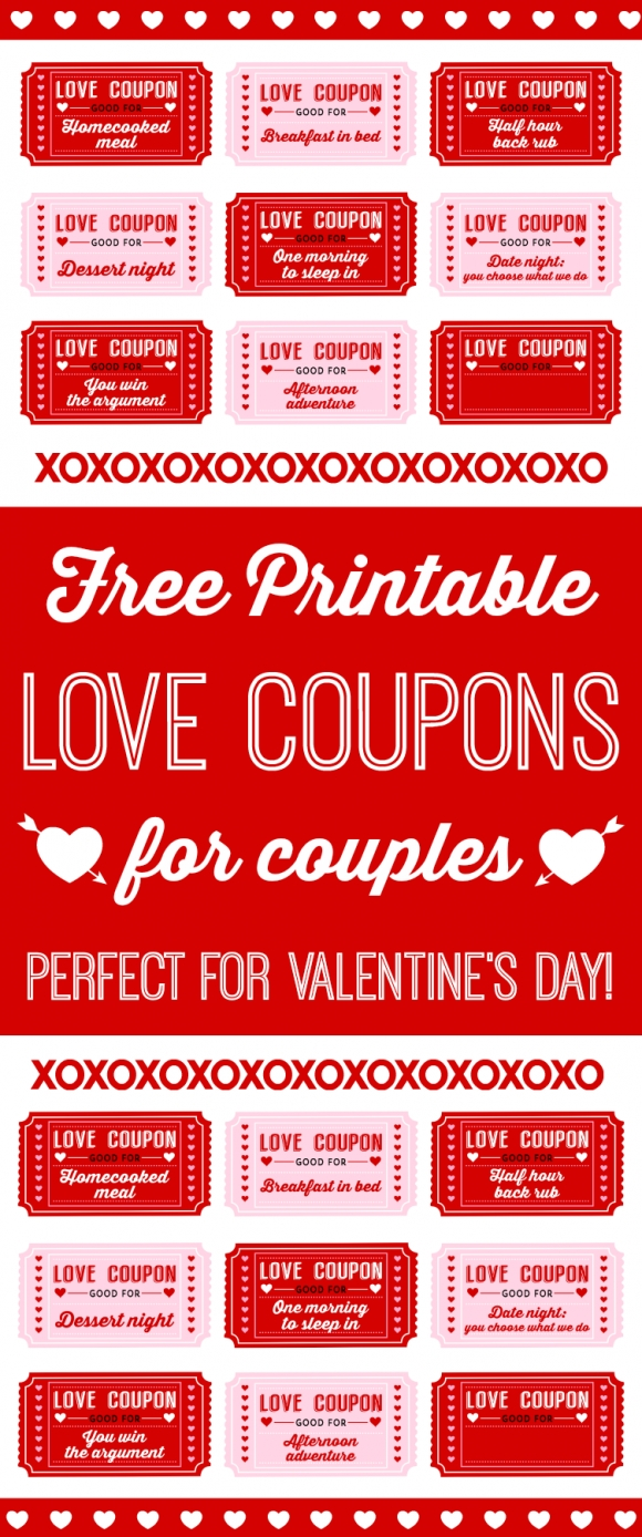 10 Perfect Love Coupon Ideas For Husband free printable love coupons for couples on valentines day free 2 2020