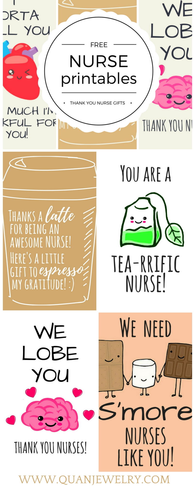 10 Cute Ideas For Nurses Week Activities free printable nurse appreciation thank you cards gifts for nurses 2021
