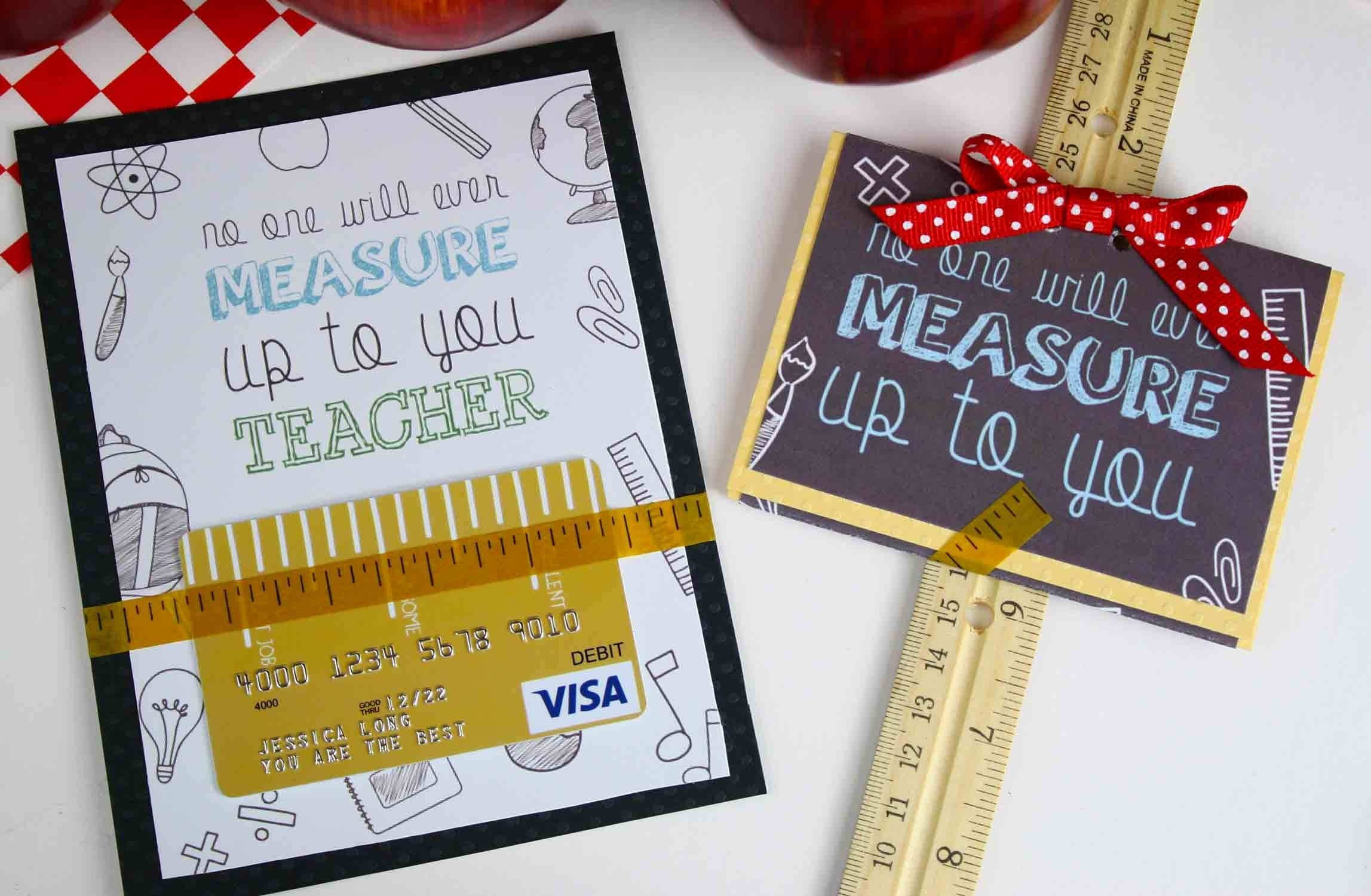10 Elegant Gift Card Ideas For Teachers free printable teacher appreciation gift card measures up gcg 2020