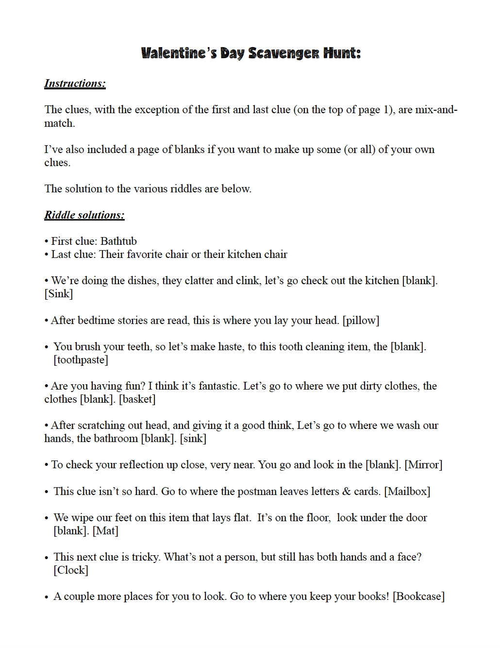 10 Nice Crazy Scavenger Hunt Ideas For Adults