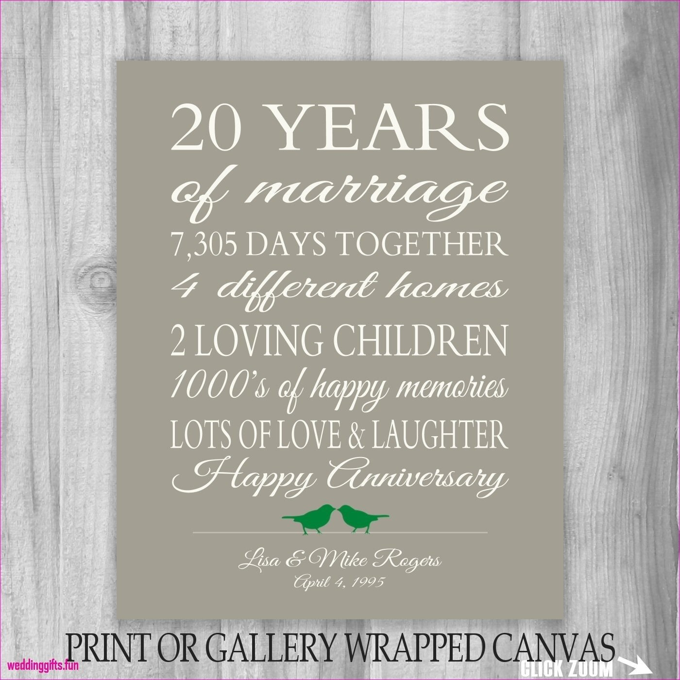 10 Lovable Ideas For 20Th Wedding Anniversary fresh 20th wedding anniversary gifts for her foxy wedding gifts 2020