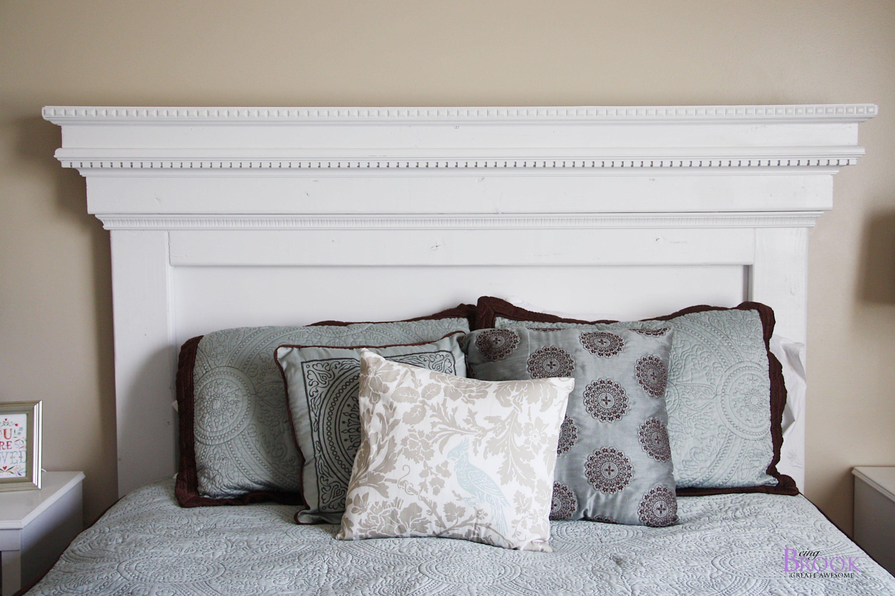 10 Fantastic Diy Headboard Ideas For Queen Beds fresh diy headboard ideas for twin beds 4654 2020