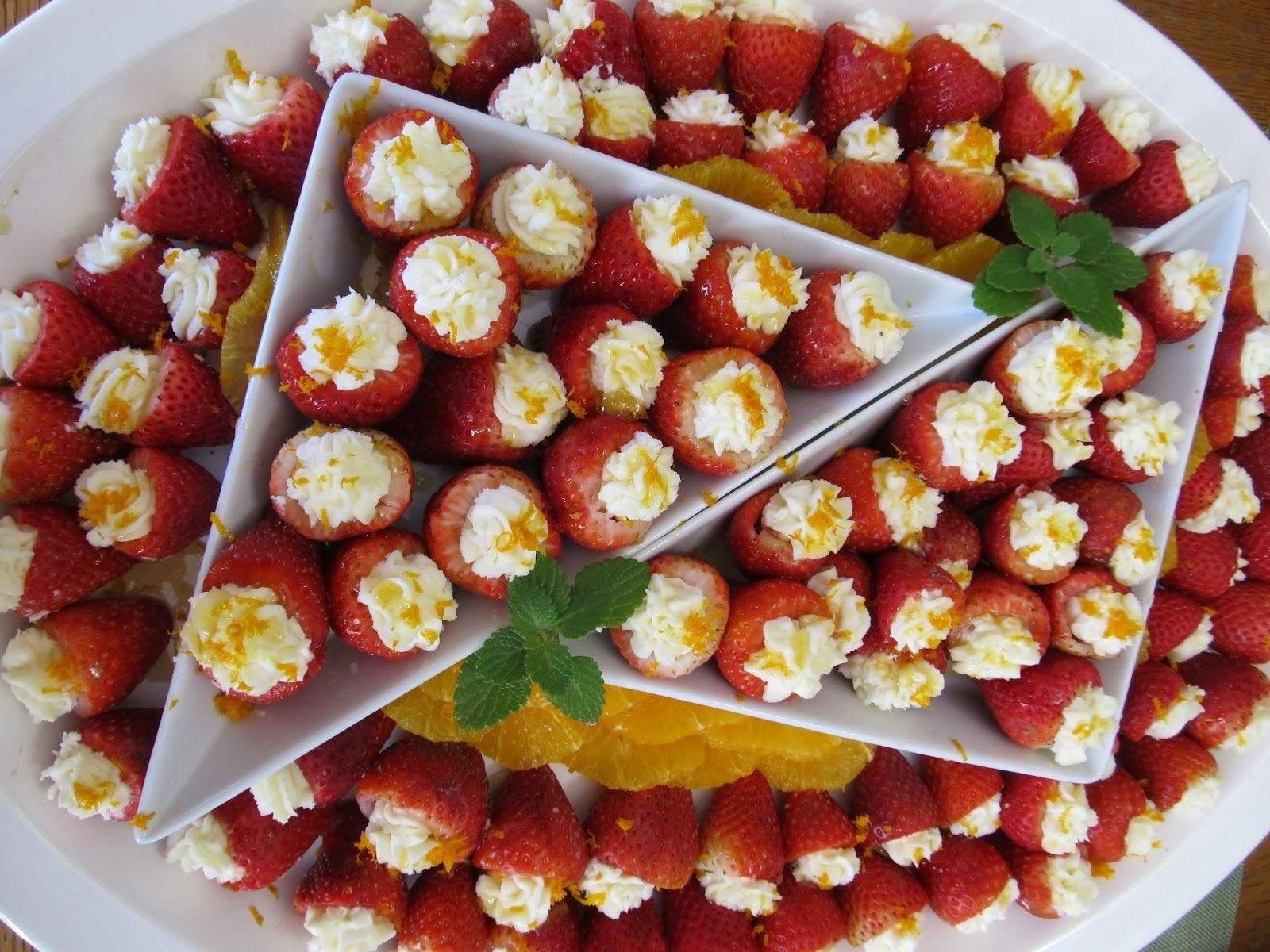 fresh ideas : engagement party appetizer menu