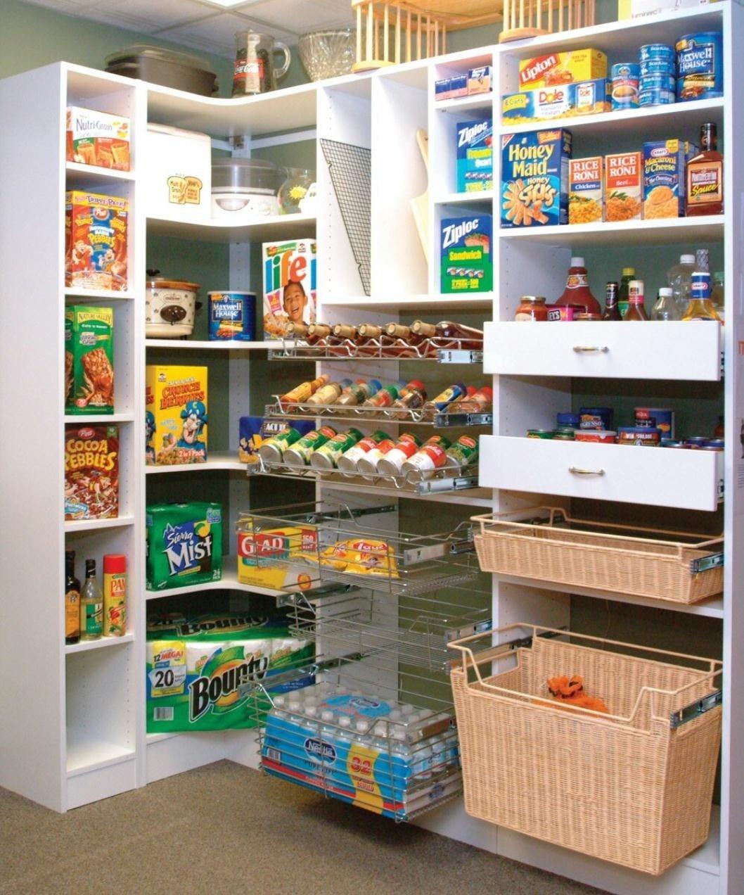 10 Ideal Walk In Pantry Shelving Ideas fresh kitchen corner walk in pantry 15681 2020