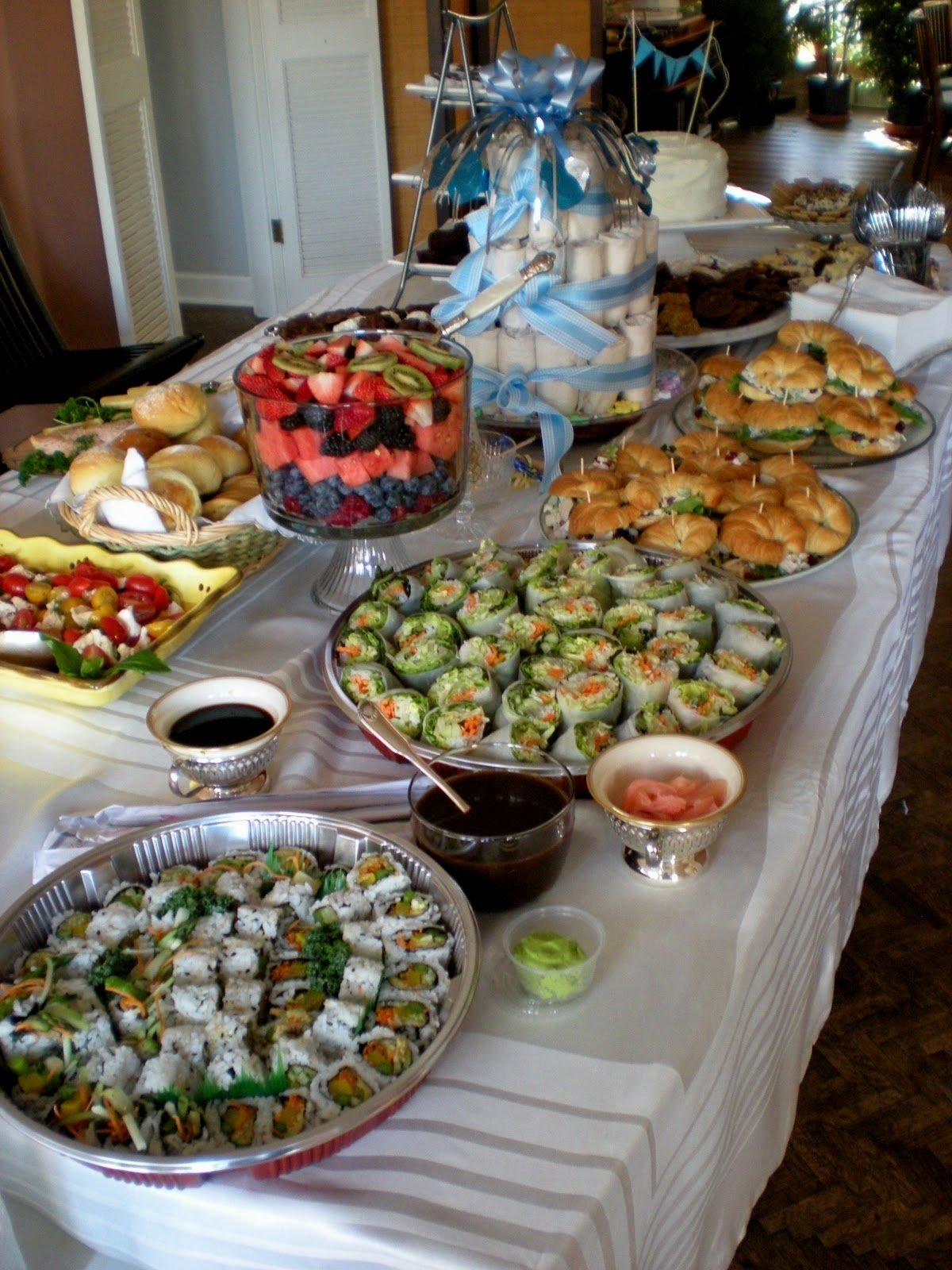 10 Attractive Baby Shower Food Ideas For A Boy frightening baby shower food menu ideas recipes finger brunch 1 2020