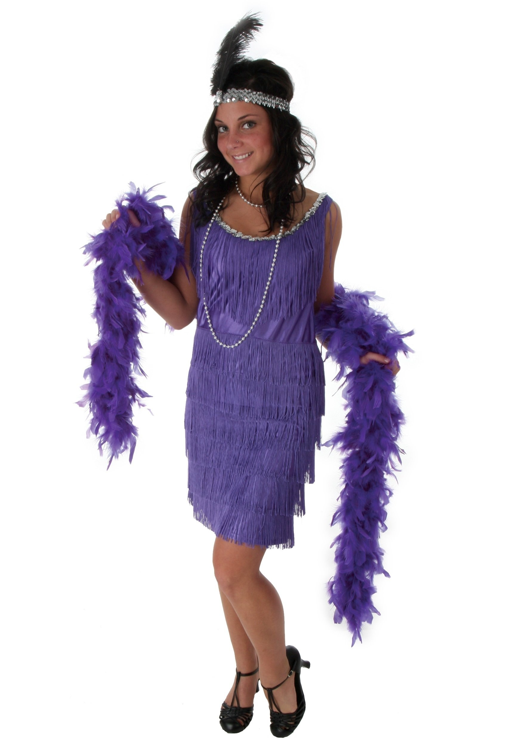 10 Awesome Mardi Gras Dress Up Ideas fringe purple flapper costume halloween costumes 2020