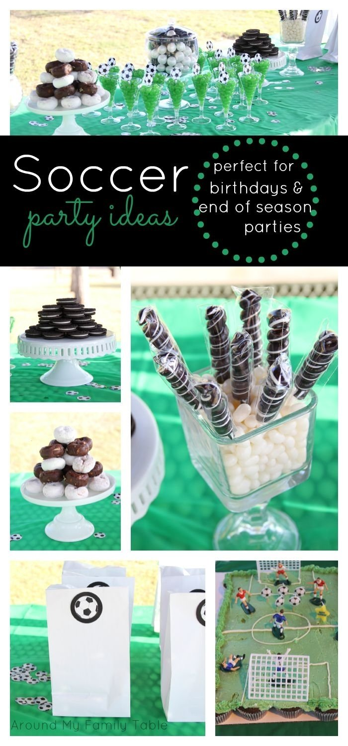 10 Nice End Of Season Soccer Party Ideas
