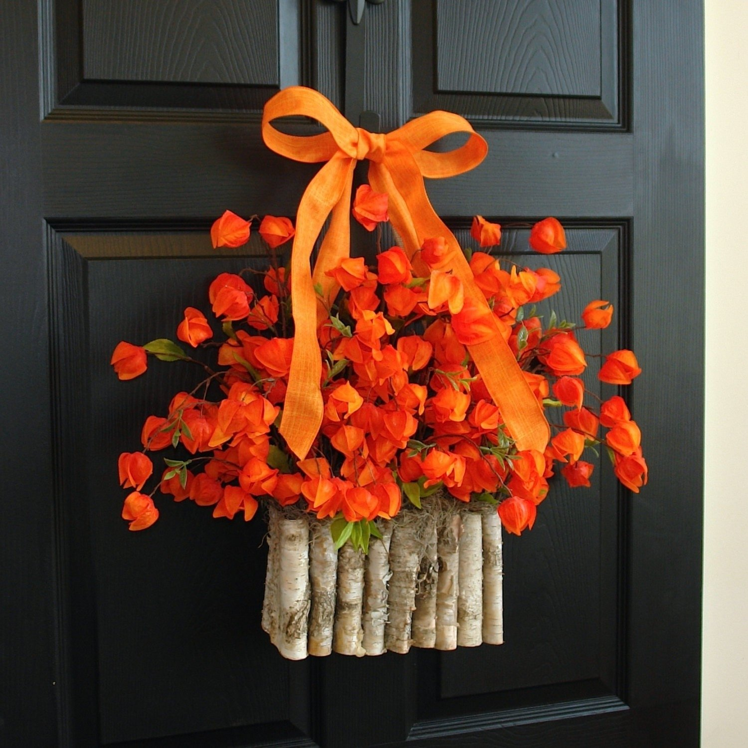 10 Stunning Fall Wreath Ideas Front Door front doors charming front door fall wreath fall wreaths front 2020