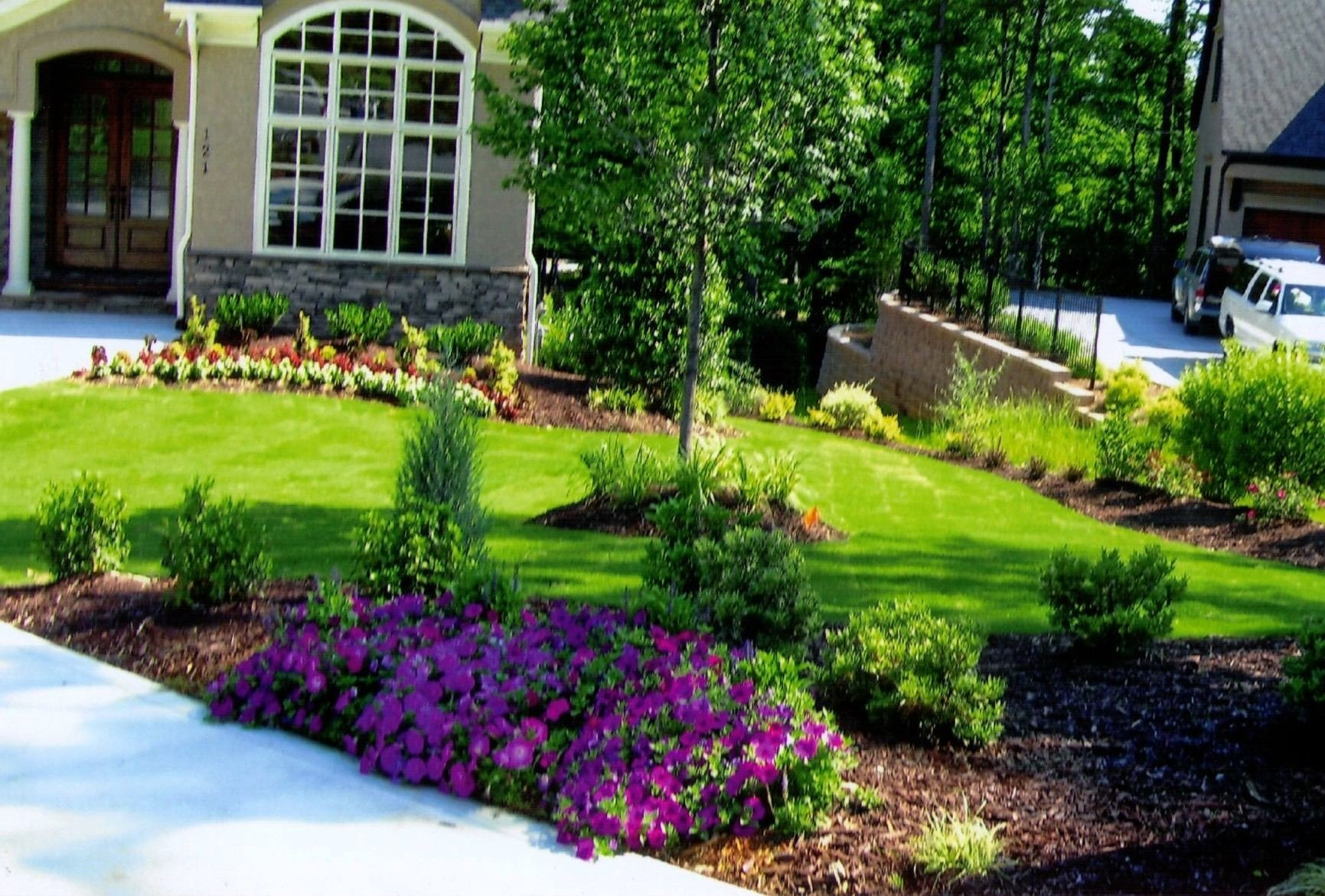 10 Spectacular Front Yard Flower Bed Ideas front lawn garden ideas wonderful garden ideas front yard flower 2020