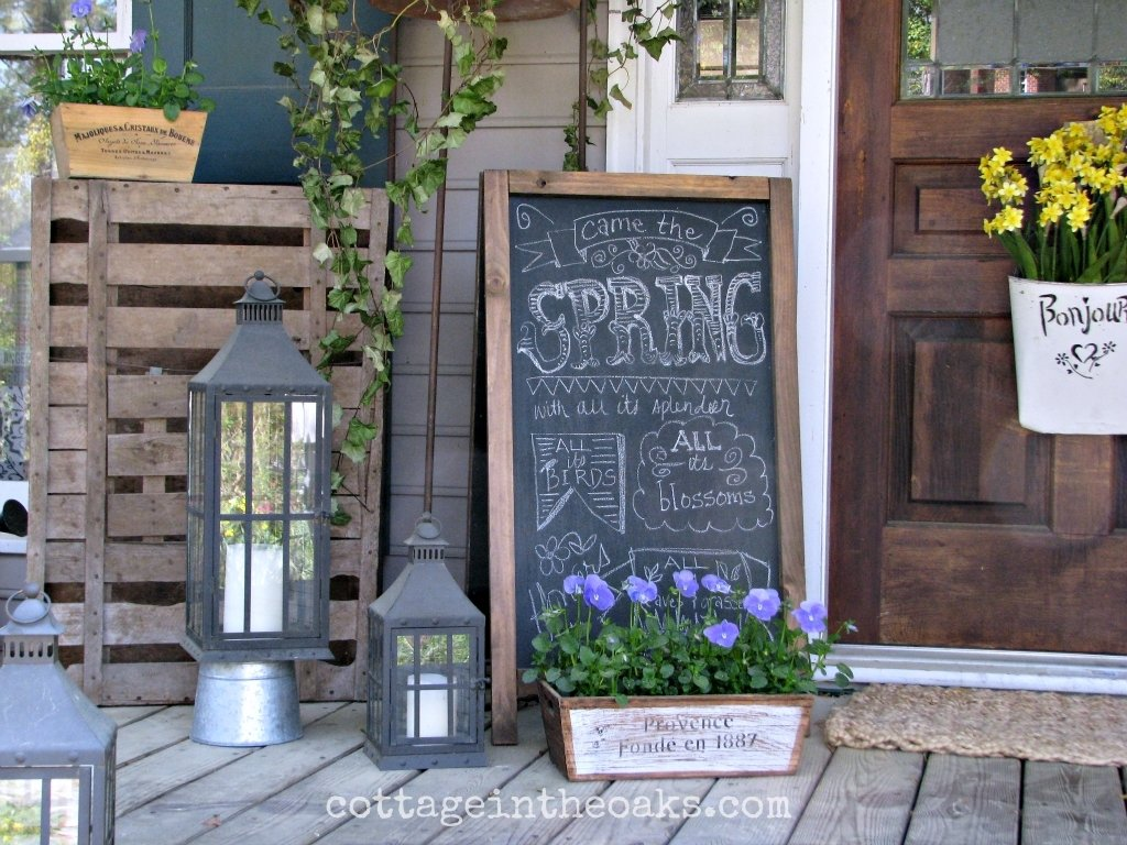 front porch decorations 1000 images about front decor spring on