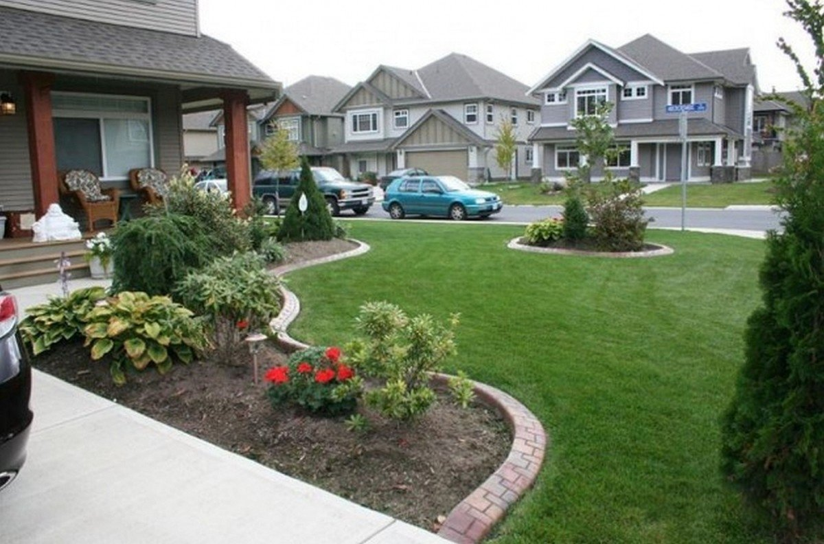 front yard designs ideas — zachary horne homes : front yard designs