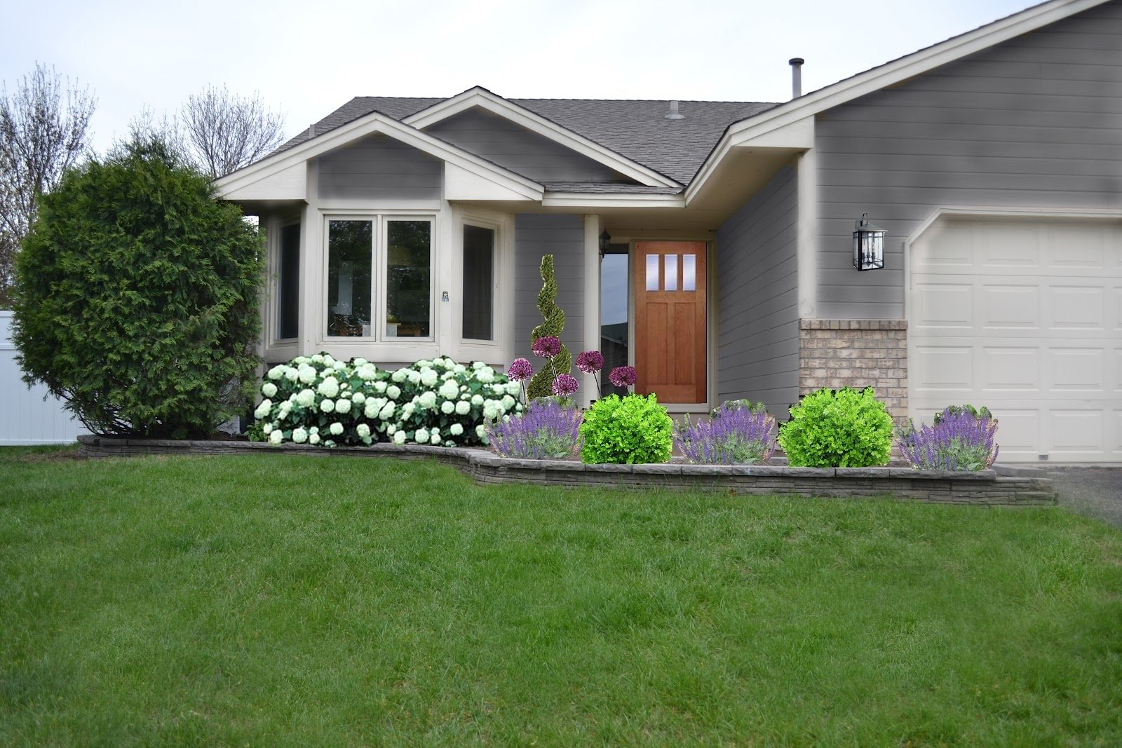 10 Stunning Landscaping Ideas Front Of House front yard front yard simple landscaping ideas for of house design 1 2020