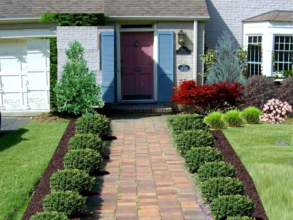 10 Spectacular Front Yard Landscaping Ideas For Small Homes front yard landscape ideas for small homes the garden inspirations 2021